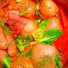 ゴロゴロお野菜のイタリアントマト風味ポトフ