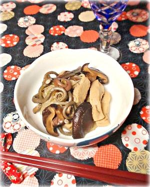 ☆★高野豆腐とぜんまいの煮物♪★☆