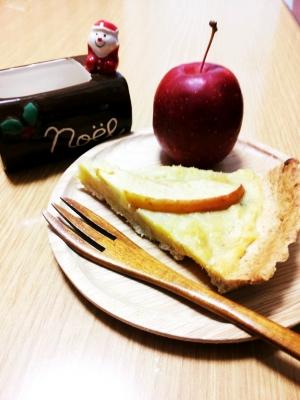 さつまいもとリンゴのタルト