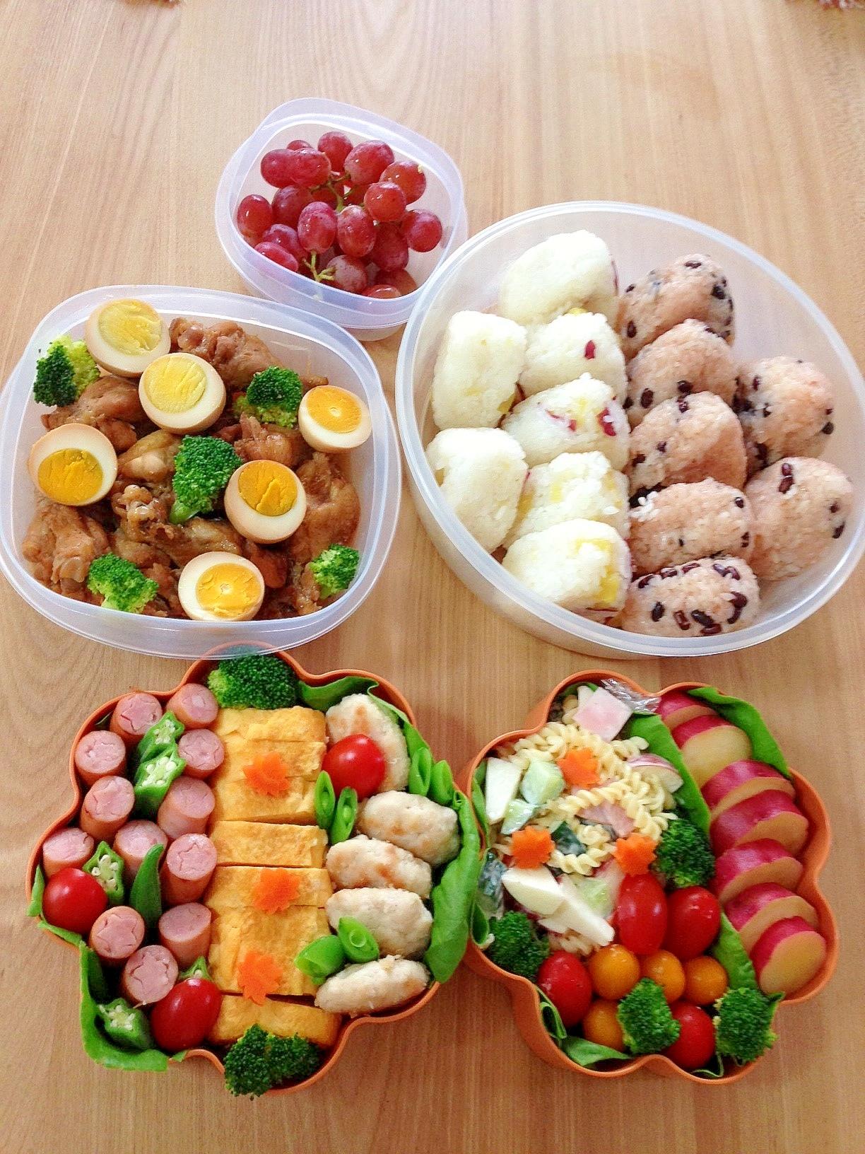 2013☆運動会のお弁当♪