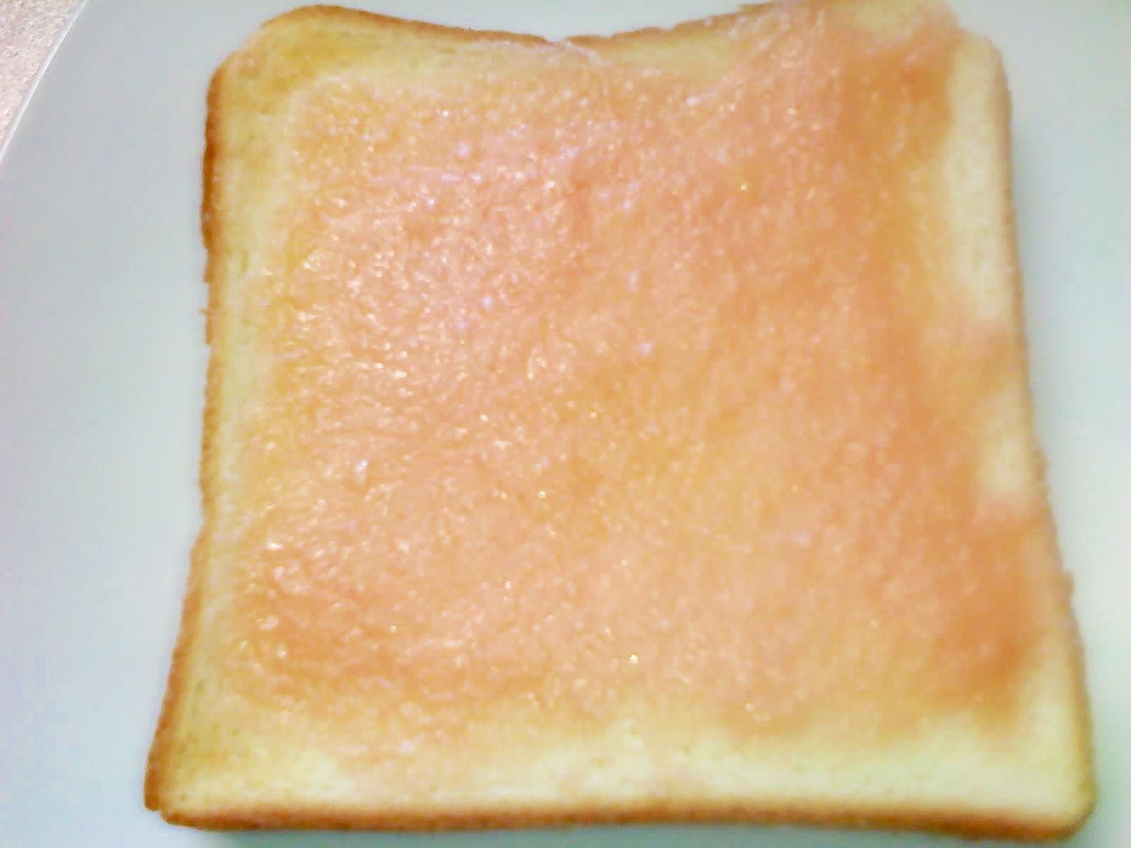 朝のとろ~りスムージーのいちごパン