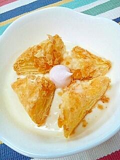 マンゴー黒酢で☆ダブルマンゴーパイヨーグルト♪