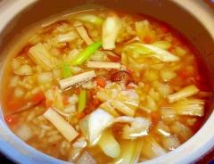 残り野菜でヘルシー♪ 和スープご飯☆