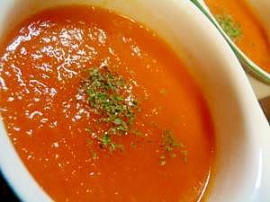 電子レンジとブレンダーで!新玉ねぎとトマトのスープ