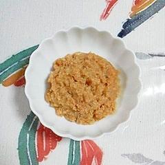 菊芋と生たらこの炒め物