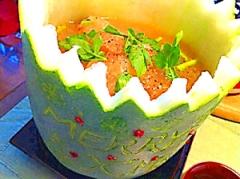 冬瓜でピェンロー鍋風スープ