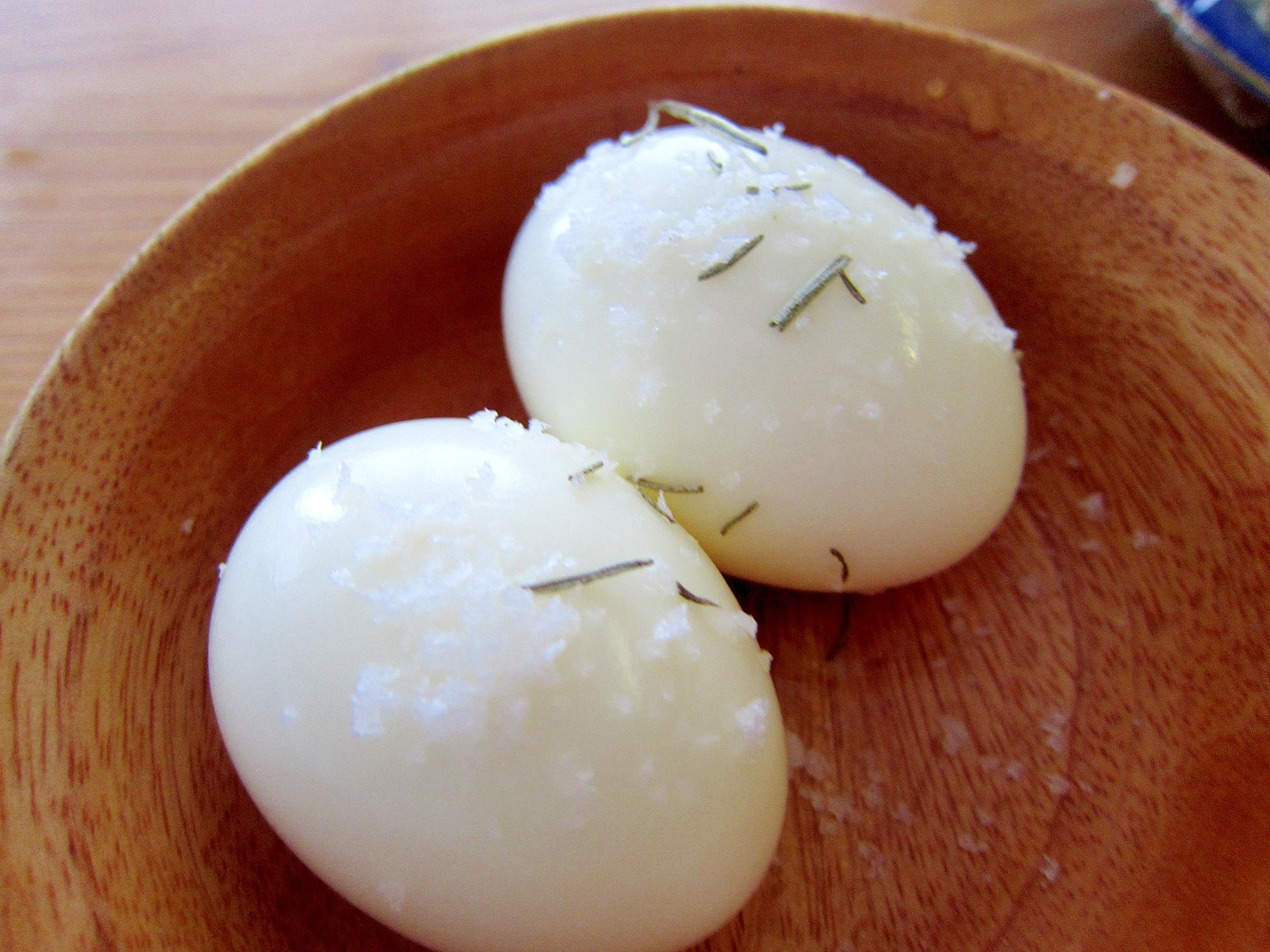 ローズマリースチーム卵