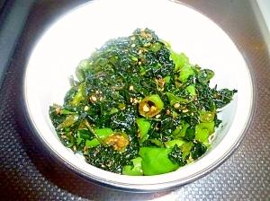 葉唐辛子の醤油炒め煮