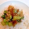ごはんのおともに 小松菜と桜えびで