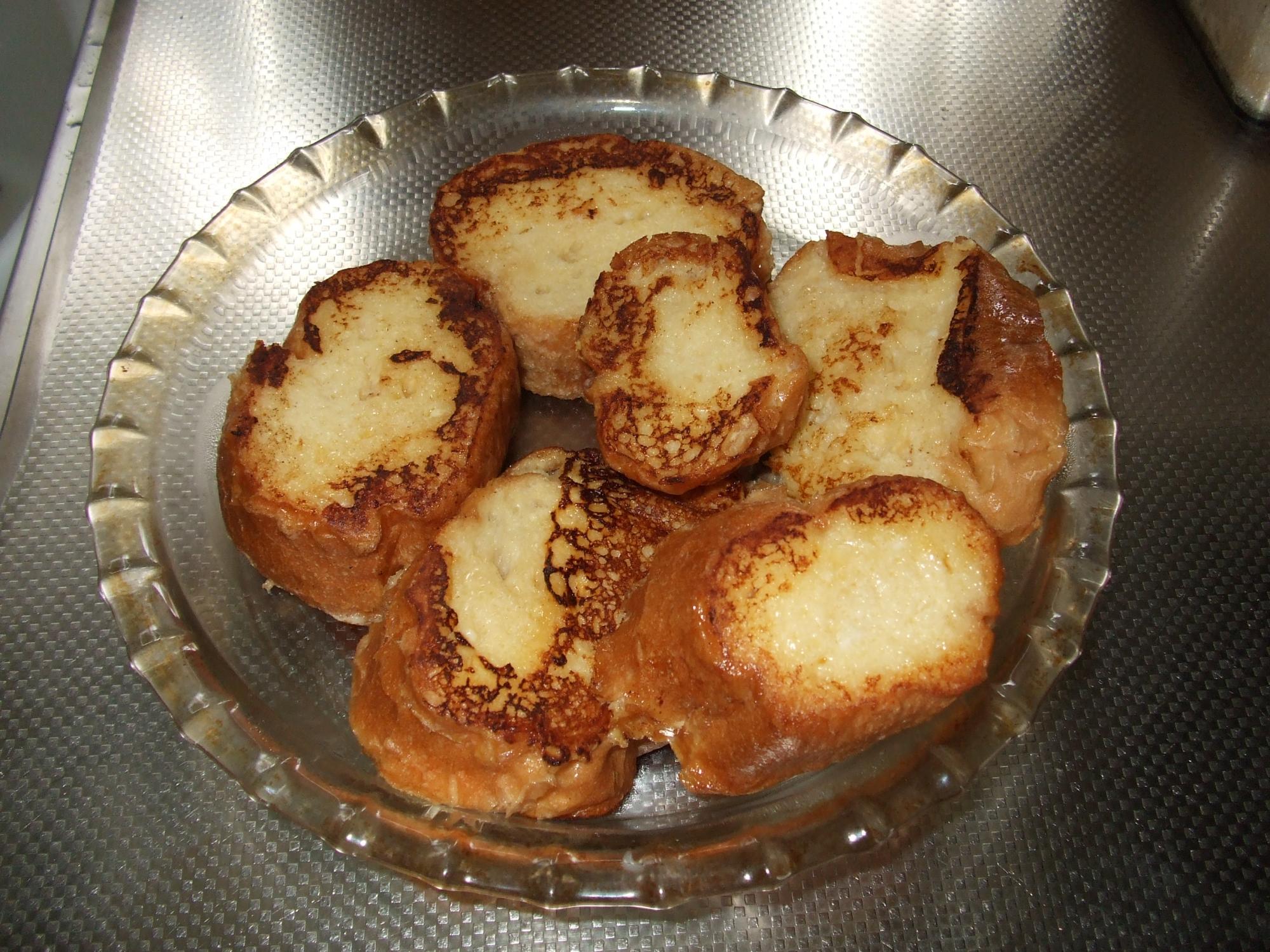 脱脂粉乳でフレンチトースト