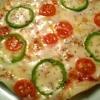 フライパンで作る!カリッとろ~りおもちピザ♪