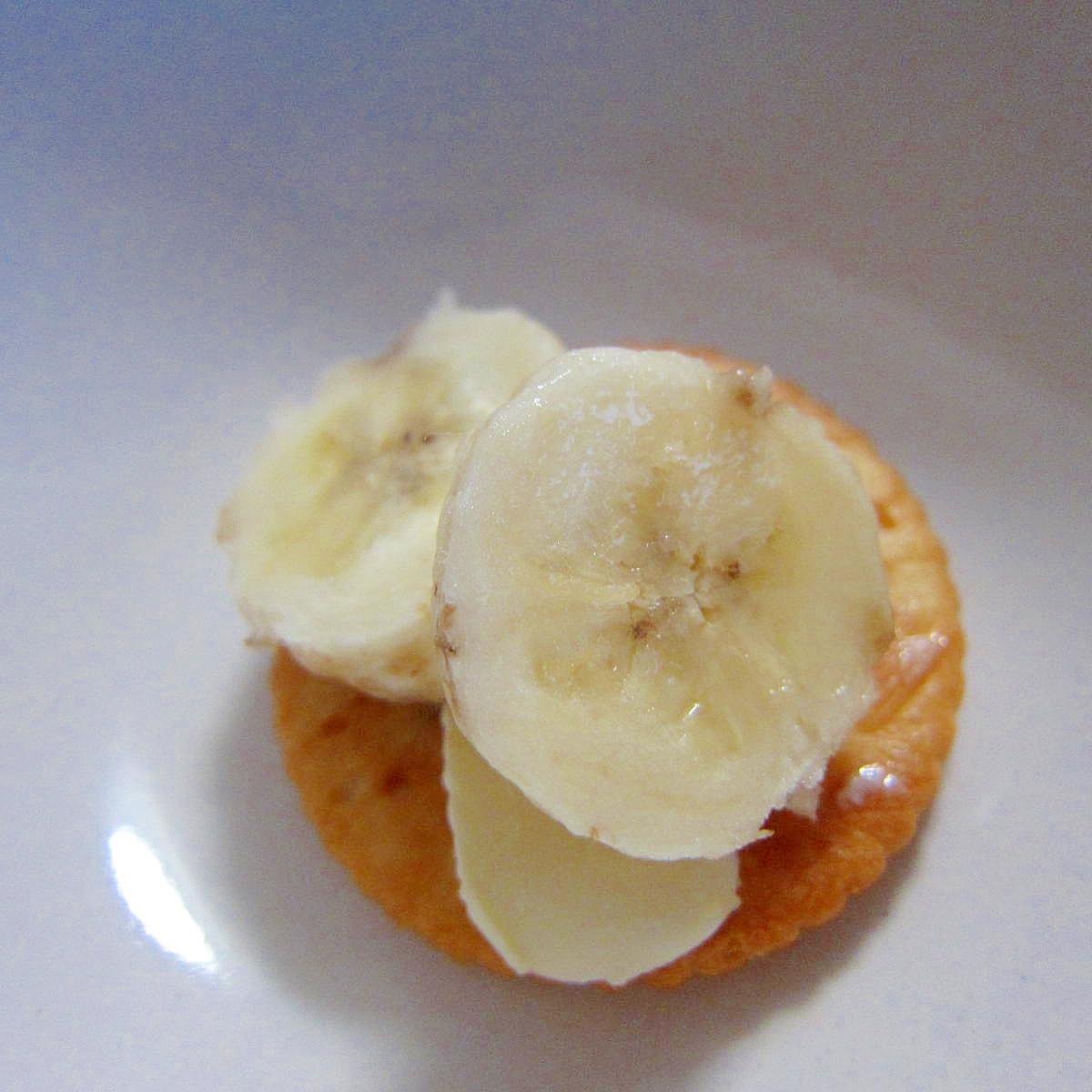 バナナ蜂蜜マーガリンリッツ