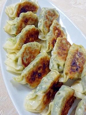 ワケギと豆腐の餃子