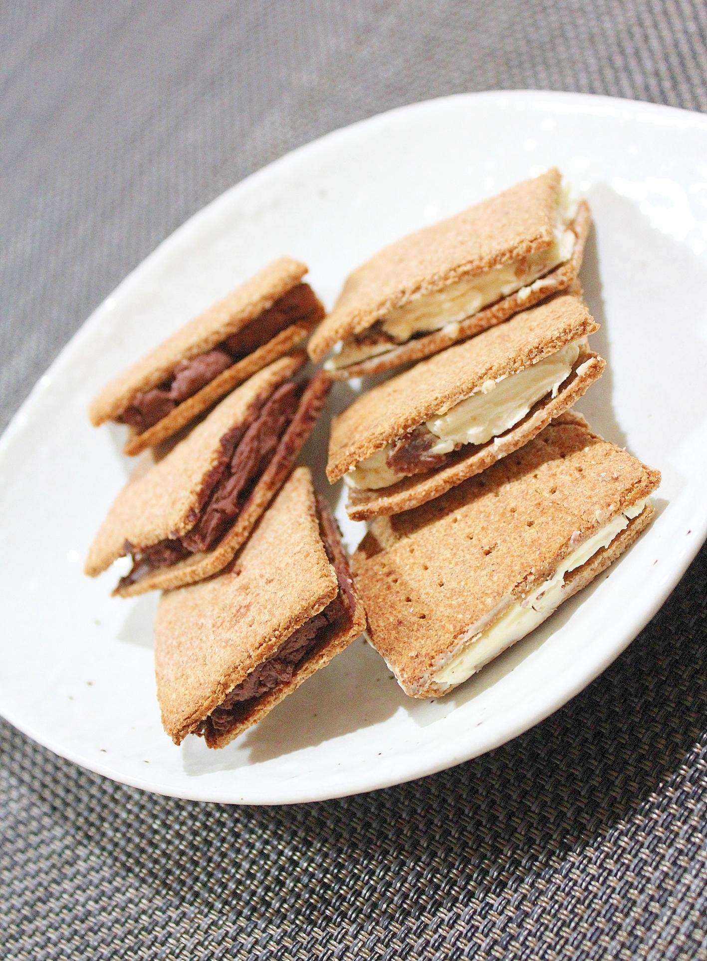 クリームチーズブランクッキー★チョコ&少量レーズン
