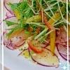 ☆赤かぶと水菜のさっぱりサラダ☆