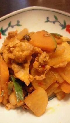 大根とすくなかぼちゃの豆板醤炒め レシピ・作り方 by かおチュワン|楽天レシピ