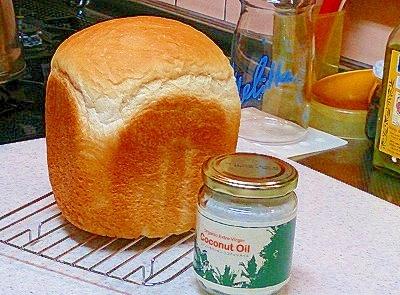 美肌にココナッツオイルを使ってパン・ド・ミ