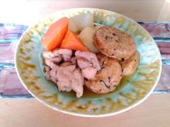 ★がんもどき(ひろうす)と鶏と野菜の煮物★