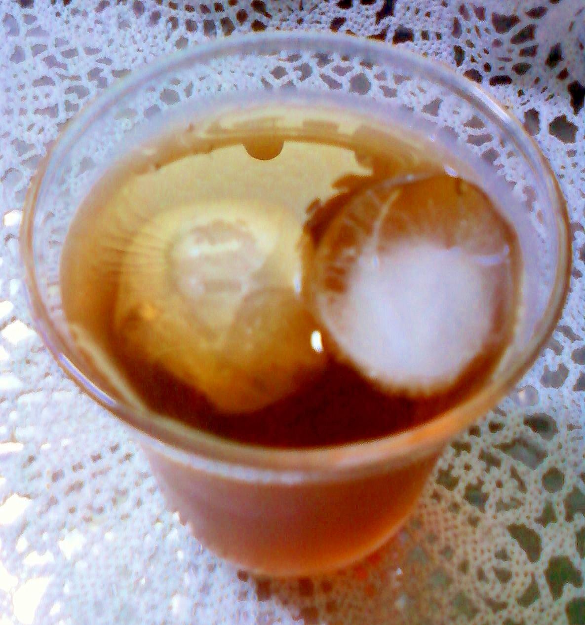 ☆。.:*:★ブランデー入り麦茶紅茶☆。.:*:★