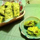 小松菜とグリーンレーズンの萌黄スコーン