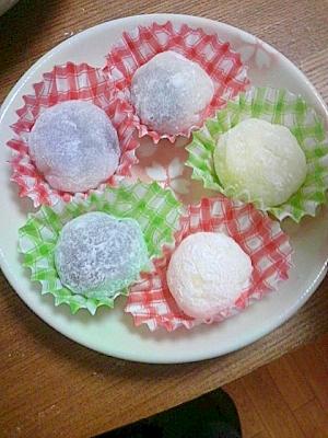 バレンタイン!切り餅で簡単チョコ大福(^^)