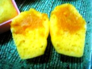 かぼちゃ蒸しパン★かぼちゃ餡入り