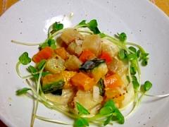 焼き芋サラダ