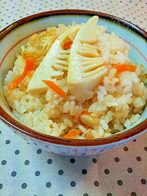炊飯器におまかせ♪簡単たけのこご飯 レシピ・作り方 by ラズベリっち|楽天レシピ