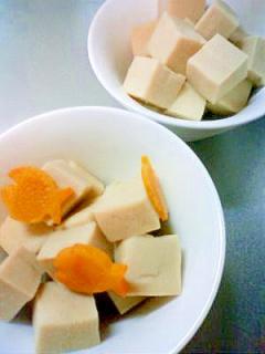 絶品☆めんつゆで簡単に高野豆腐