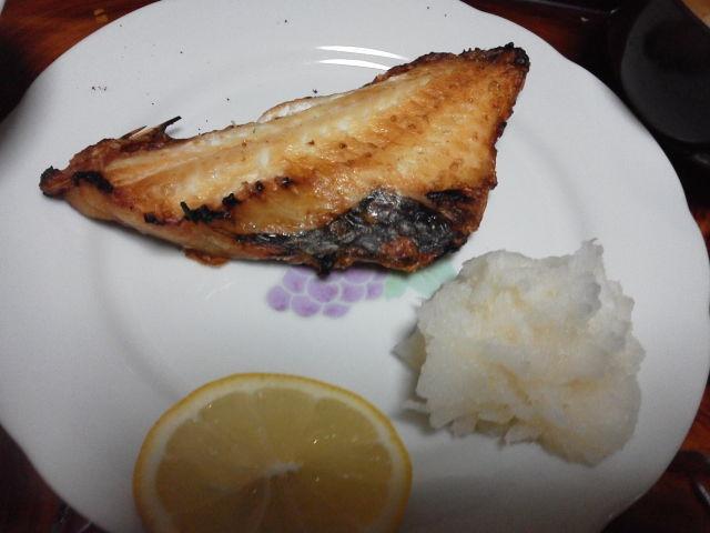 金目鯛のみりん醤油焼き