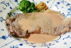 風味豊か&まろやかソースの簡単ペッパーステーキ