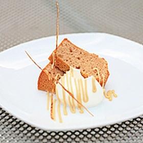 ごぼうのシフォンケーキ
