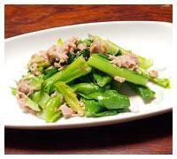 小松菜の簡単和え物!小松菜のツナ和え!