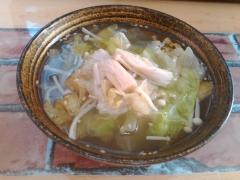 ★レタスとえのきの中華風ごまスープ★