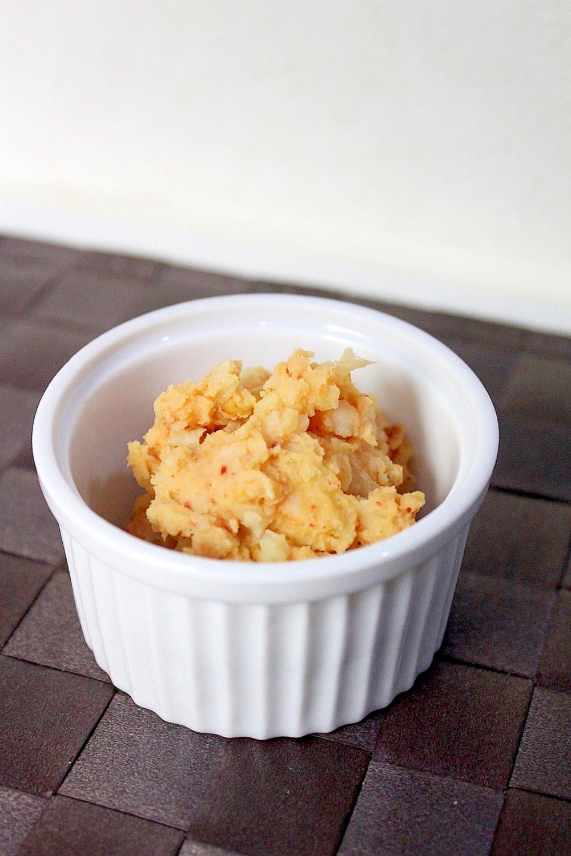 キムチ&クリームチーズのポテトサラダ