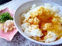 簡単! しょうゆ麹の卵かけごはん☆