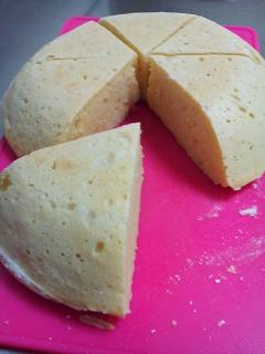 簡単☆炊飯器で豆腐パン