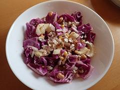 紫キャベツのサラダ