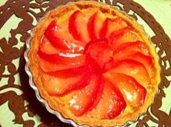 紅玉りんごのキューンと甘酸っぱ〜い全粒粉タルト
