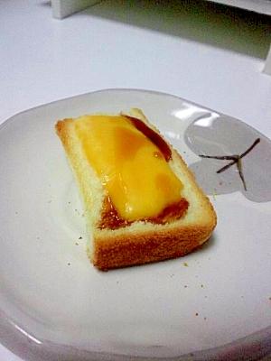 ひとくちおつまみトースト☆チェダーメープル