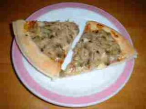 アサリのピザ