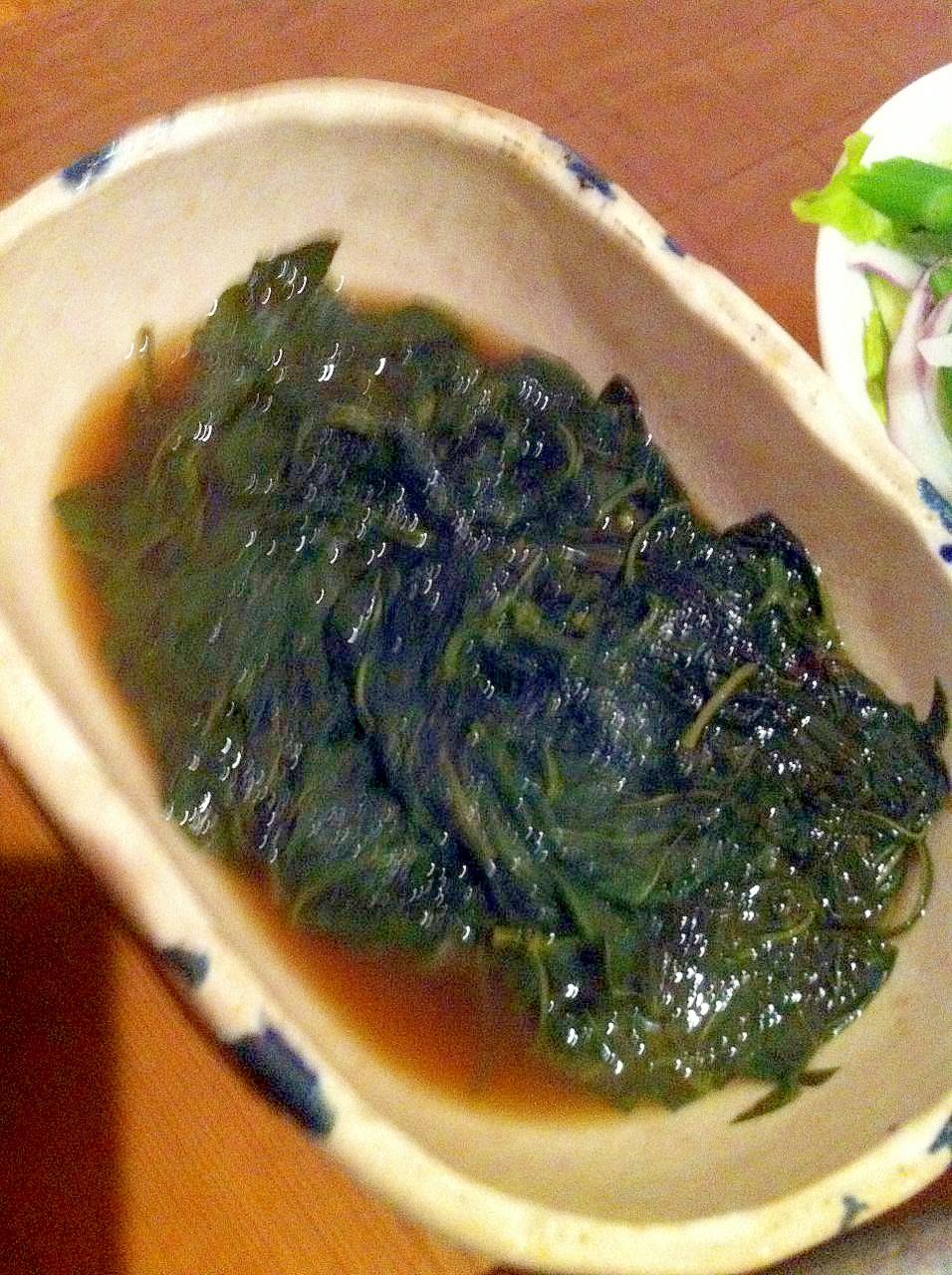 葉唐辛子の煮浸し