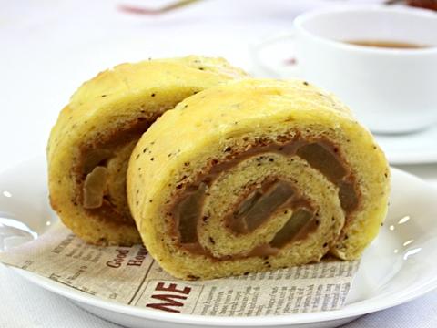 【ママパン】紅茶のロールパン