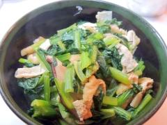 超簡単!5分で一品追加!小松菜の煮浸し