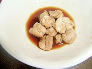 鮭の白子の甘辛煮