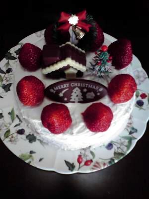 いちごのクリスマスケーキ♪