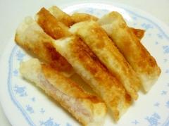 ☆餃子の皮で♪ ベーコンポテトチーズ巻き☆