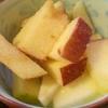 ボケたリンゴ・皮ももおいしく☆冷凍リンゴ