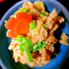 穂先筍のあっさり和風ポテトサラダ