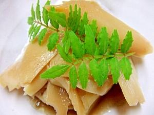 竹の子姫皮の煮物